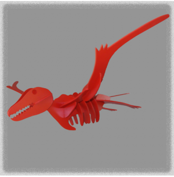 Archaeopteryx - Red (Bird Type)