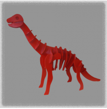 Brachiosaurus - Red