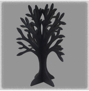 Double Sided Jewellery Tree - Charcoal