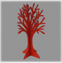Double Sided Jewellery Tree - Red