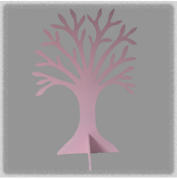 Single Jewellery Tree - Pink